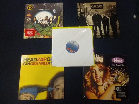 Lot 1004 10 ASSORTED VINYL RECORDS TO INCLUDE; HOLE, THE SEX PISTOLS, OASIS, RADIOHEAD ETC