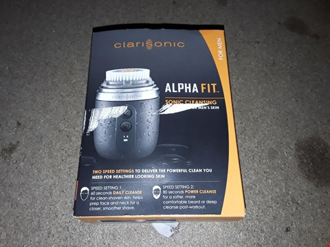 Lot 247 CLARISONIC STYLE ALPHA FIT MEN'S CLEANSING BRUSH