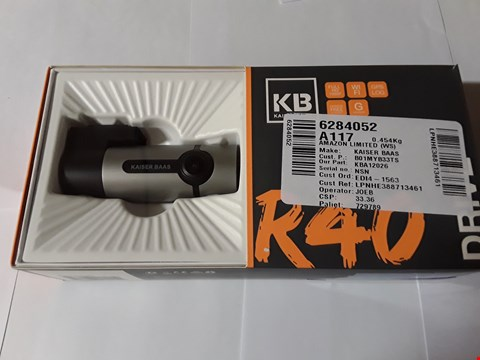 Lot 1788 KAISER BASS R40 DRIVE DASH CAMERA