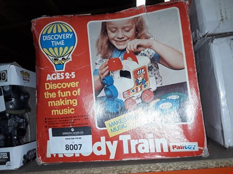 Lot 1030 MELODY TRAIN AGES 2-5