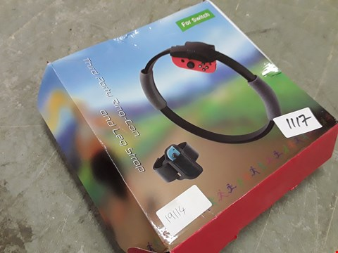 Lot 1117 BOXED SWITCH EXERCISE RING & LEG STRAP