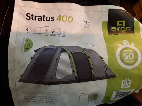 Lot 30 AIRGO STRATUS 400 INFLATABLE TENT