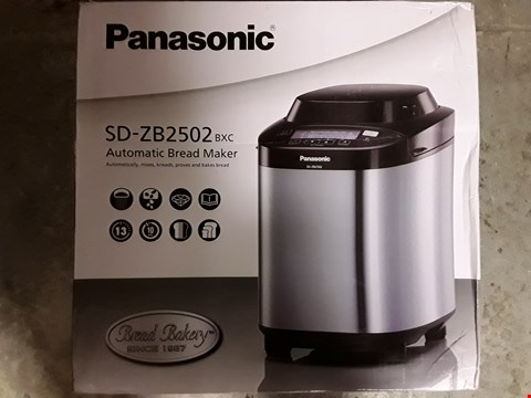 Lot 336 PANASONIC SD-2511 AUTOMATIC BREAD MAKER