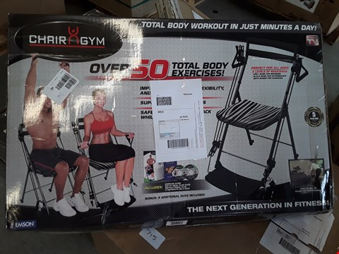 Lot 716 BOXED CHAIR N GYM