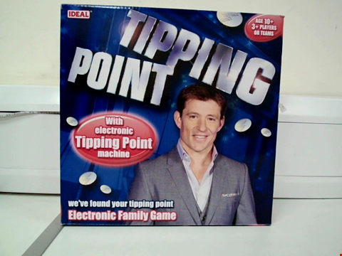 Lot 8052 IDEAL TIPPING POINT ELECTRONIC FAMILY GAME
