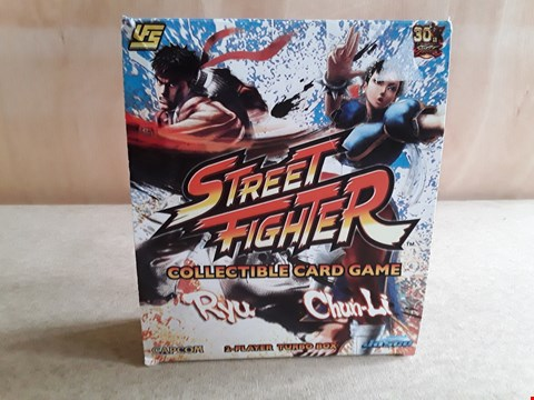 Lot 7 BRAND NEW BOXED STREET FIGHTER COLLECTABLE CARD GAME