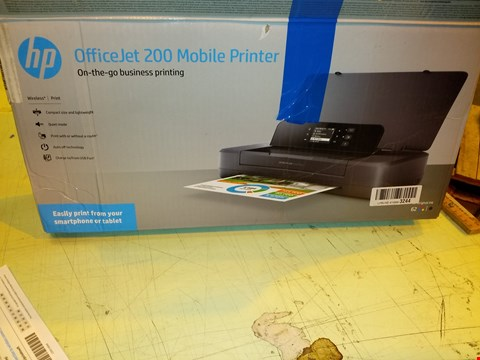 Lot 8322 HP OFFICEJET 200 MOBILE PRINTER
