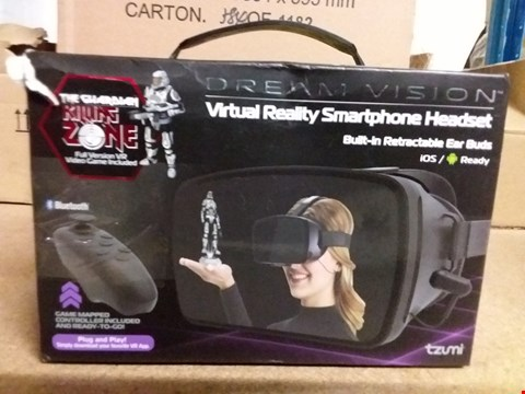 Lot 2452 DREAM VISION VIRTUAL REALITY HEADSET