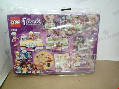 Lot 10476 BOXED LEGO FRIENDS BAKING COMPITION SET
