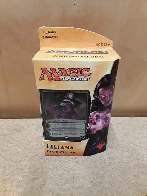 Lot 43 BRAND NEW BOXED MAGIC THE GATHERING (STRATEGY CARD GAME) CARD DECK: LILIANA DEATH WIELDER