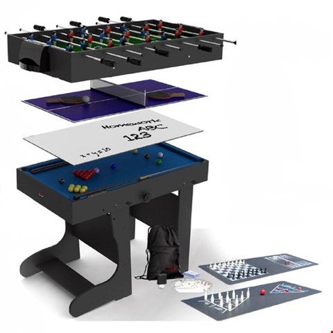 Lot 150 BOXED 4FT MULTI GAME TABLE  RRP £259.00