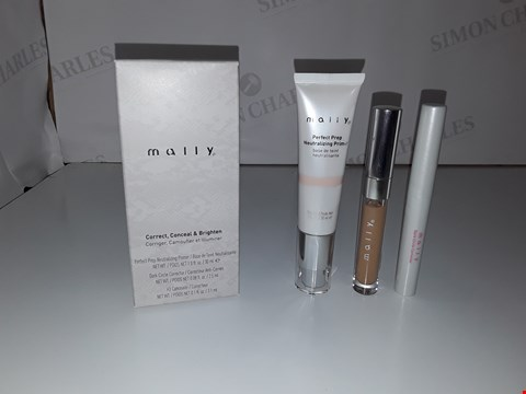 Lot 537 MALLY CORRECT, CONCEAL & BRIGHTEN SET RICH