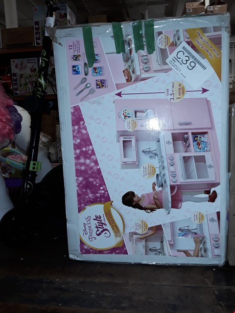 Lot 1020 DISNEY PRINCESS STYLE COLLECTION GOURMET KITCHEN RRP £122