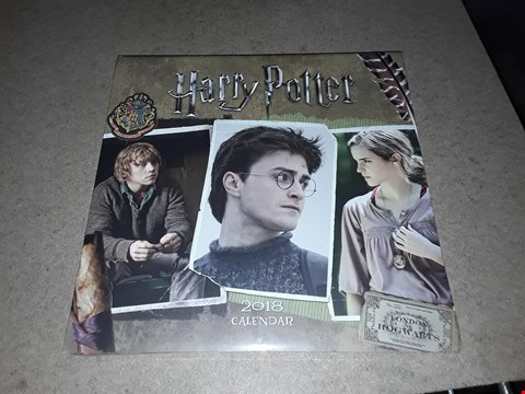Lot 215 LOT OF 4 BRAND NEW HARRY POTTER 2018 CALENDERS