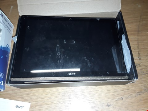 Lot 142 BOXED ACER ICONIC ONE 10 TABLET, 32GB - GOLD RRP £239.99