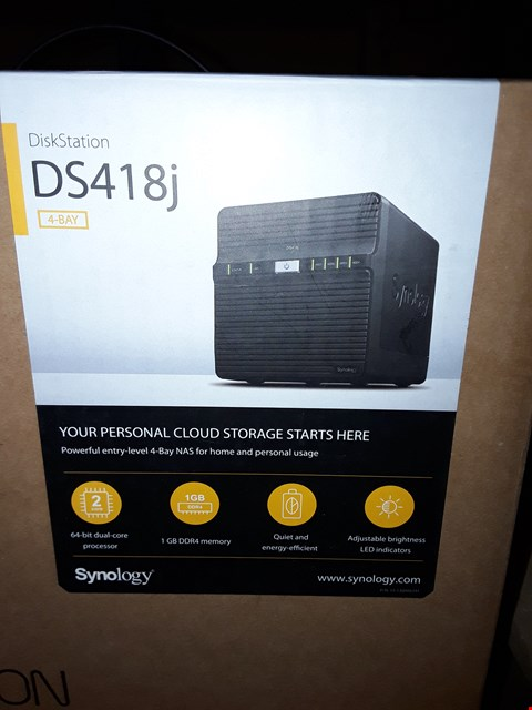 Lot 66 SYNOLOGY DS418J DISKSTATION