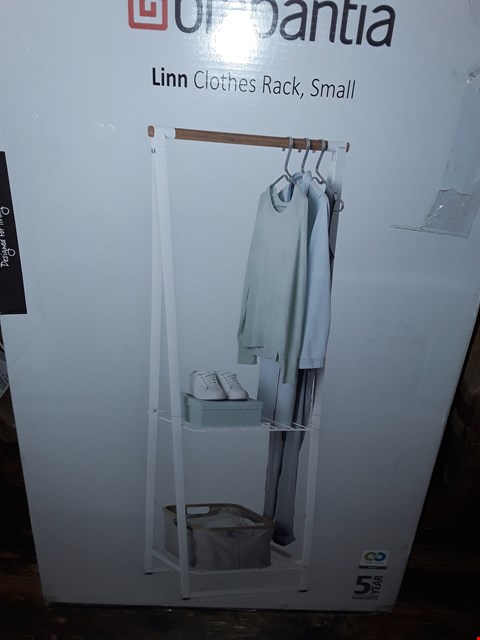 Lot 5014 BOXED LINN CLOTHES RACK, SMALL