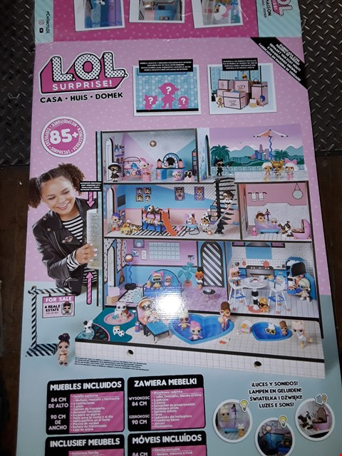 Lot 824 L.O.L SURPRISE SURPRISE HOUSE RRP £230
