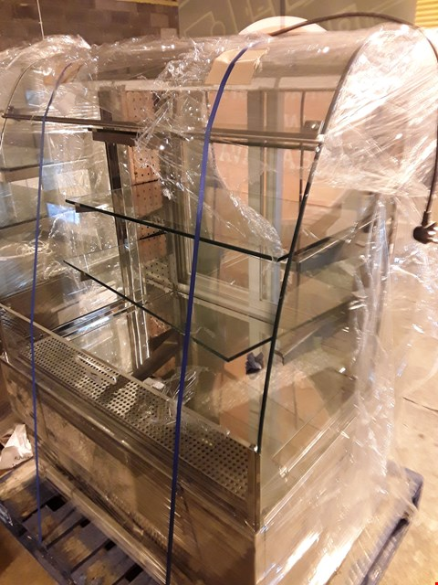 Lot 2 REFRIGERATED GLASS TOP DISPLAY CABINET
