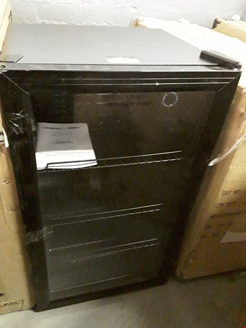 Lot 146 BOXED CRYSTAL POINT DRINKS COOLER/DISPLAY FRIDGE
