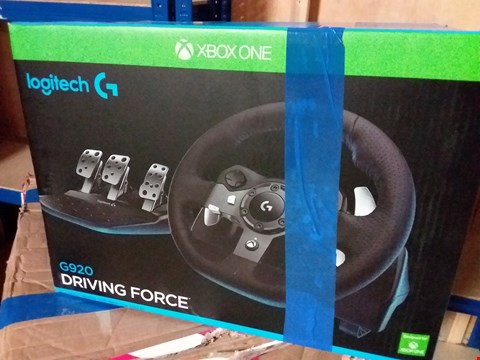 Lot 294 LOGITECH G920 GAMING RACING WHEEL