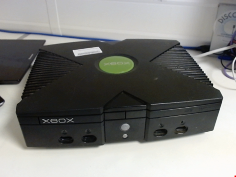 Lot 5138 MICROSOFT XBOX GAMES CONSOLE