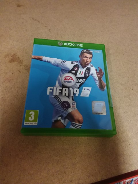 Lot 8239 FIFA 19 STANDARD EDITION FOR XBOX ONE