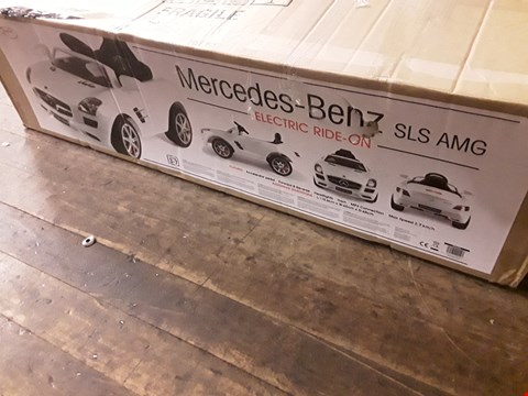 Lot 8533 TOYRIFIC MERCEDES GLA ELECTRIC RIDE ON £299.99 RRP £300.00