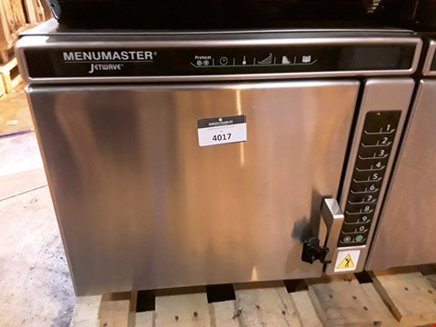 Lot 3002 MENUMASTER JETWAVE HIGH SPEED COMBINATION MICROWAVE/OVEN
