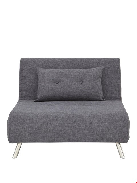 Lot 35 BOXED RAFAEL CHARCOAL SOFABED