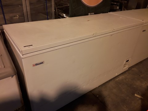 Lot 13 ELCOLD LARGE WHITE CHEST FREEZER