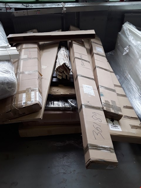 Lot 2472 PALLET OF ASSORTED FLAT PACK FURNITURE PARTS