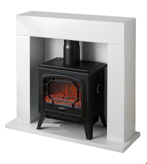 Lot 48 DESIGNER BOXED EGL SMALL STOVE FIRE SUITE