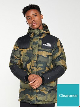 Lot 3011 BRAND NEW THE NORTH FACE DEPTFORD DOWN JACKET - CAMO SIZE S