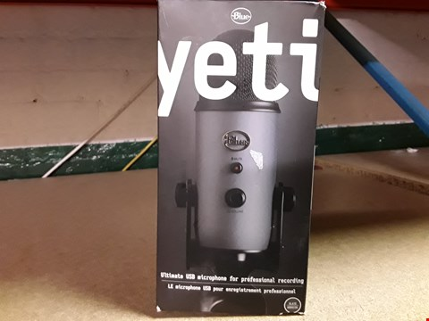 Lot 235 YETI ULIMATE USB MICROPHONE FOR PROFESSIONAL RECORDING
