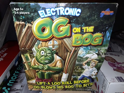 Lot 5055 ELECTRONIC OG ON THE BOG GAME RRP £27.99