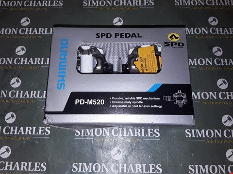Lot 1784 SHIMANO SPD BICYCLE PEDALS