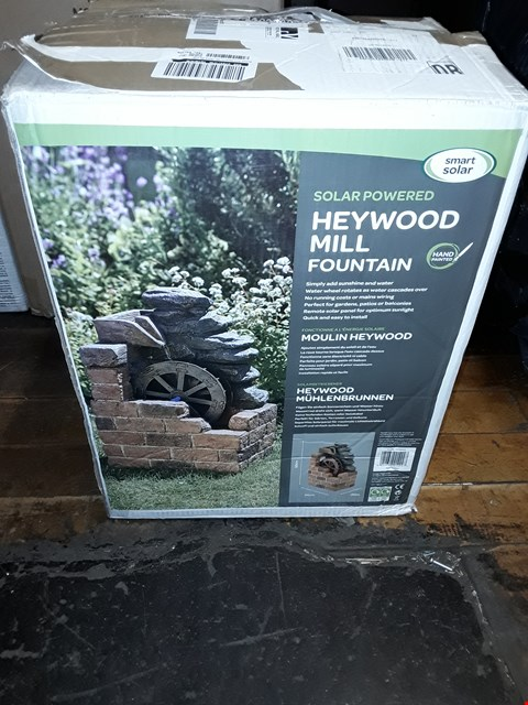 Lot 1739 GRADE 1 HEYWOOD MILL FOUNTAIN RRP £129.99