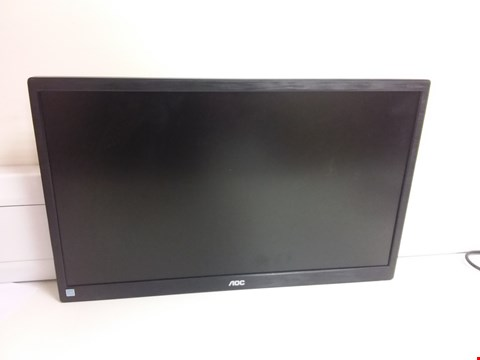 "Lot 11449 AOC E2270SWHN 21.5"" LED FHD (1920X1080) 5MS MONITOR. (VGA, HDMI) - BLACK"