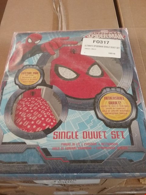 Lot 194 LOT OF APPROX 7 SPIDERMAN DUVET SETS (2 BOXES)