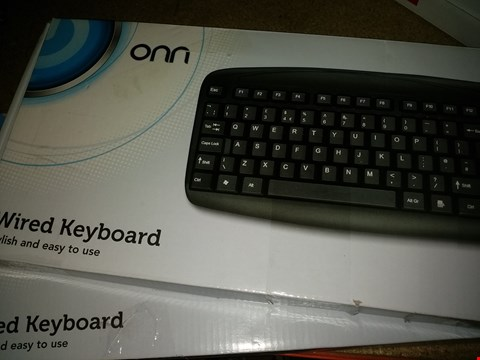 Lot 1136 LOT OF 2 ONN WIRELESS KEYBOARDS