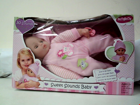 Lot 601 MOLLY DOLLY SWEET SOUNDS BABY