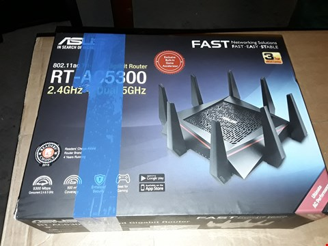 Lot 8080 ASUS RT-AC5300 TRI BAND GIGABIT ROUTER