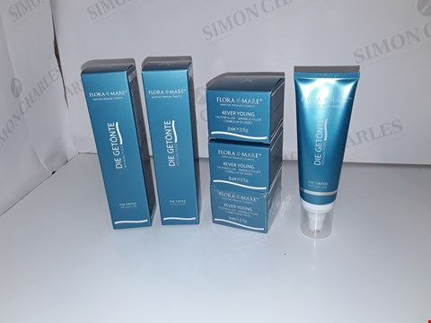 Lot 1008 3 X FLORA MARE 4EVER YOUNG WRINKLE FILLER, 3 X DIE GETÖNITE ANTI AGING CREAM