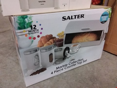 Lot 667 BOXED SALTER 4PC COUNTER TOP SET