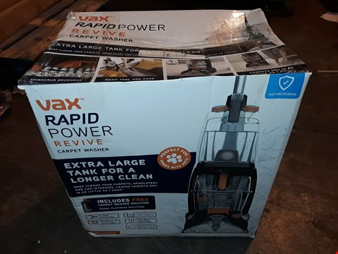 Lot 1051 VAX RAPID POWER REVIVE CARPET WASHER