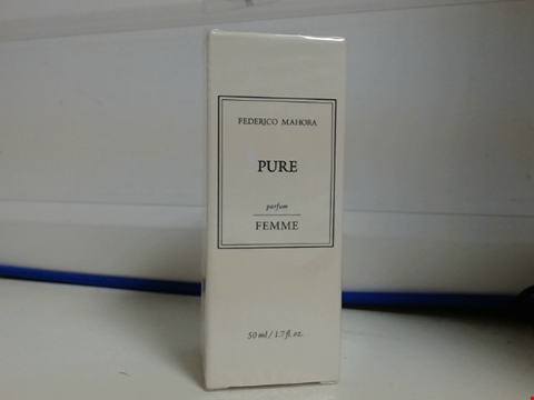 Lot 6379 FM FEDERICO MAHORA PURE PERFUME FRAGRANCE FOR WOMEN 50ML