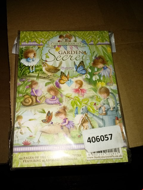Lot 644 BOX OF APPROXIMATELY 15 THE LITTLE BOOK OF GARDEN SECRETS