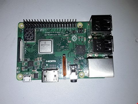 Lot 502 RASPBERRY PI MODEL B+