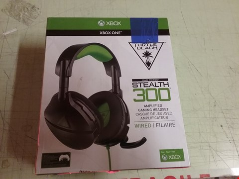 Lot 4124 TURTLE BEACH STEALTH 300 AMPLIFIED GAMING HEADSET - XBOX ONE